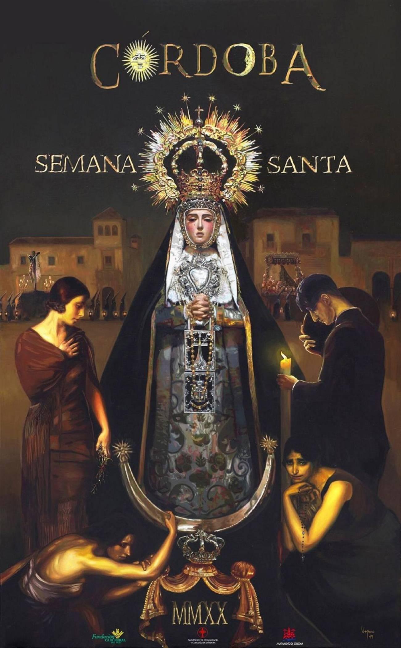 Cartel de la Semana Santa de Córdoba 2020. Obra: Fernando Vaquero.