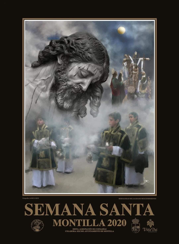 Cartel de la Semana Santa de Montilla 2020. Obra: Javier Luque